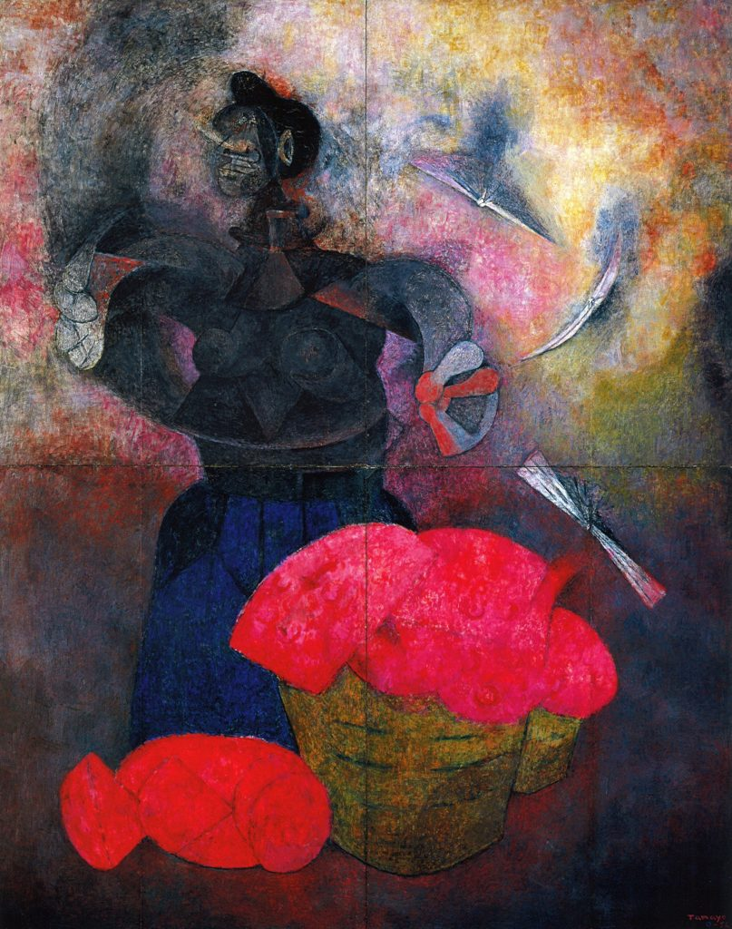 """Homage to the Indian Race (1952),"" by Rufino Tamayo."