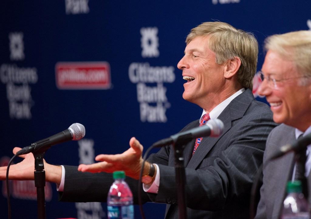 Phillies owner John Middleton