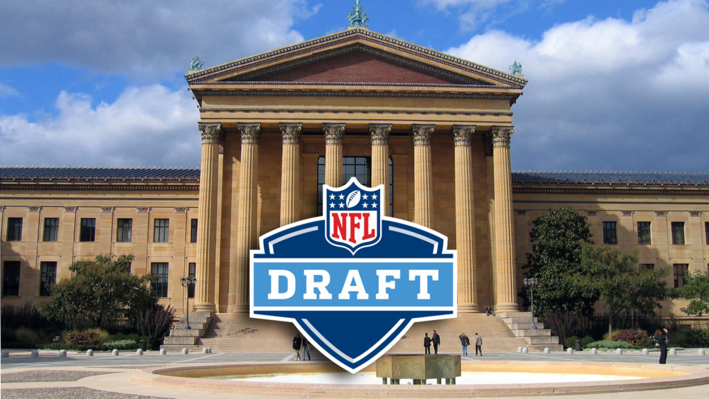 The 2017 NFL Draft will be held in the shadow of the Philadelphia Museum of Art