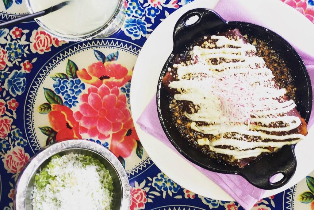 Jose Garces enchiladas are calling
