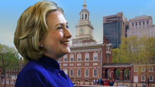 hillary-independencehall