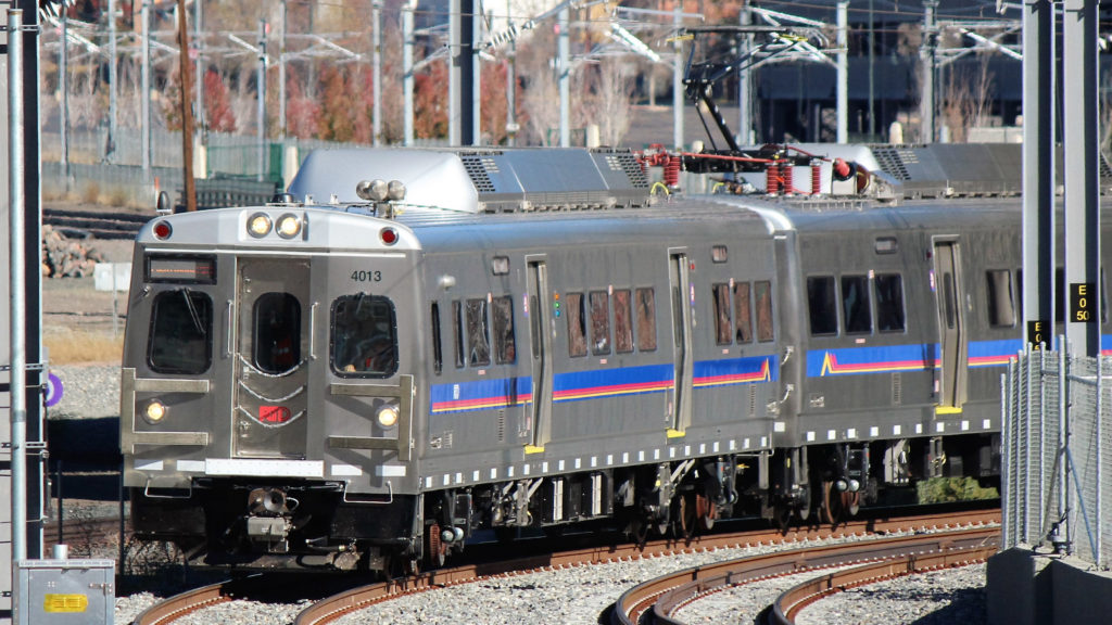 Denver's commuter rail cars are very, very similar to SEPTA's — but not quite the same