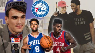 Dario Saric, Jahlil Okafor, Nerlens Noel, Ben Simmons and Joel Embiid make up the Sixers young nucleus of bigs.