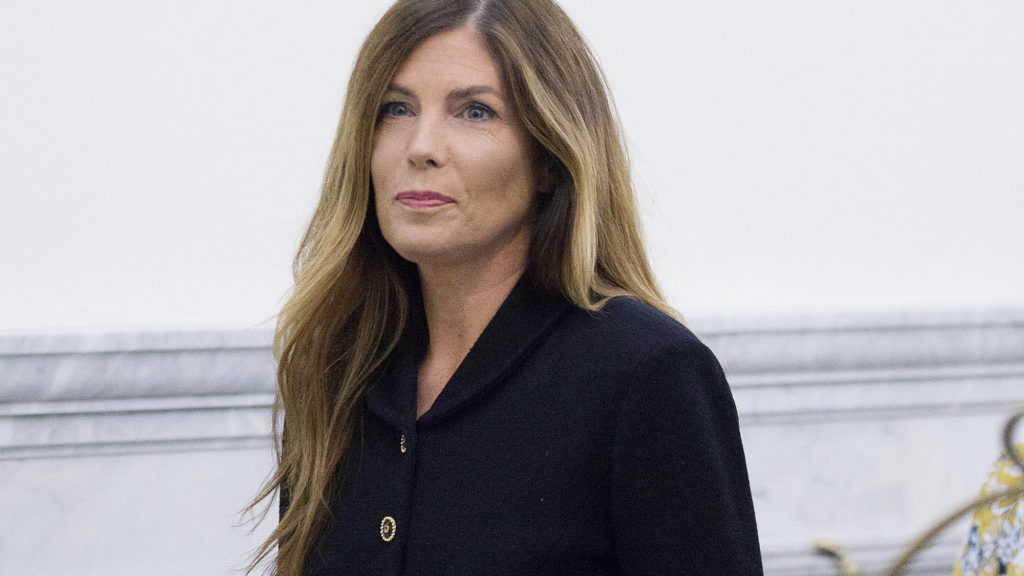 Pennsylvania Attorney General Kathleen Kane at the Montgomery County Courthouse, in Norristown.