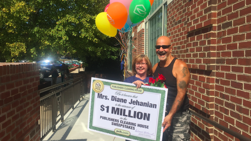 Publishers Clearing House's $1 million Philly giveaway - On top of