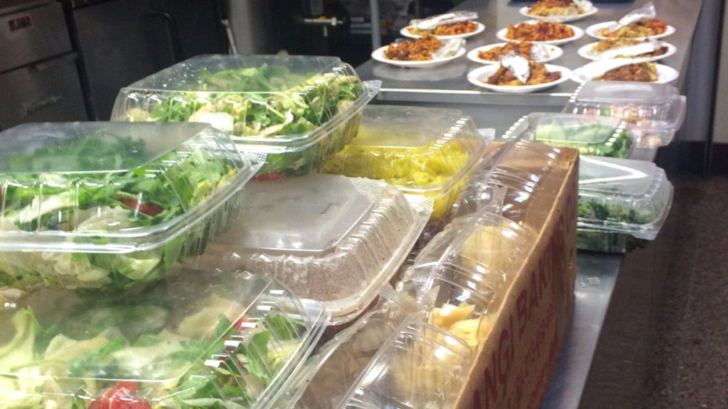 Leftovers from a Paesano's catering job turned into meals for hungry Philadelphians