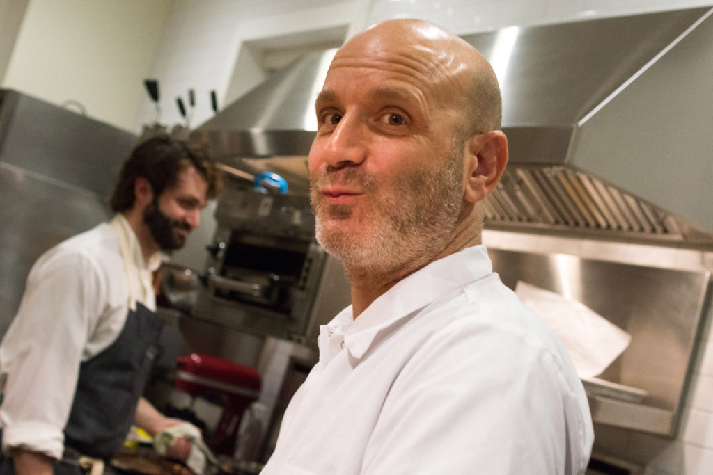 Mobile Teaching Kitchen staff will have to be ready to put on a show — something Marc Vetri is fond of doing