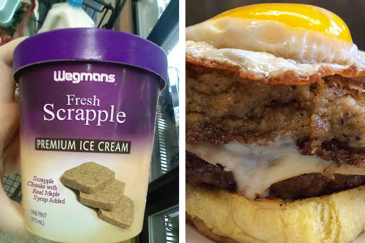 Two possible, and totally plausible, ways to enjoy scrapple