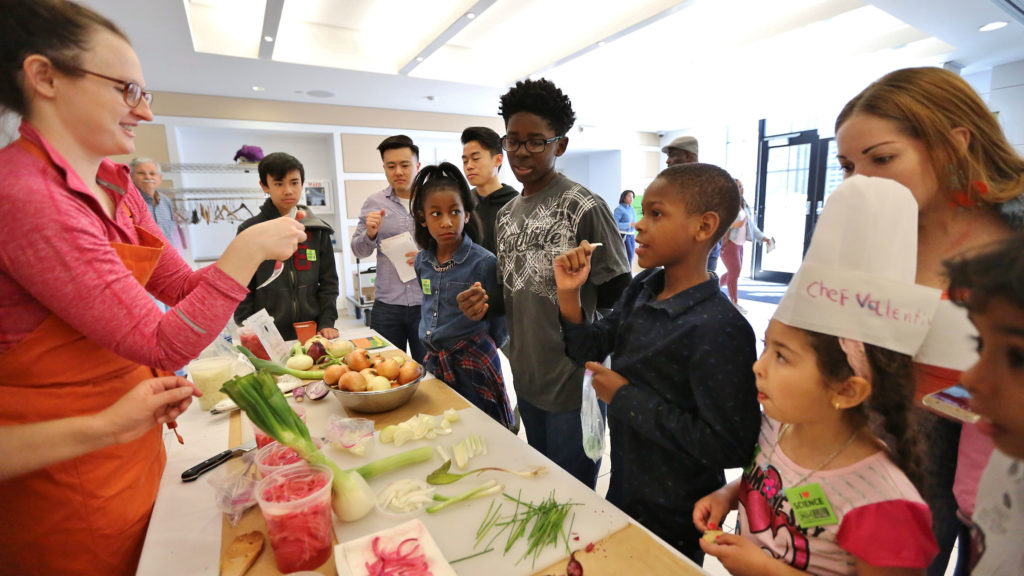 Vetri Community already runs programs showing kids how to use veggies; the new one will target adults, too