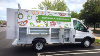 The Mobile Teaching Kitchen is close to being ready