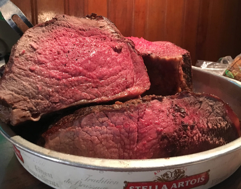 Roast beef at Cherry Street Tavern