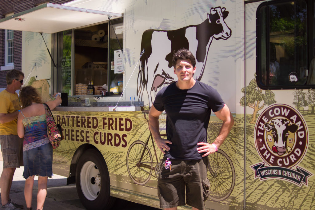 Rob Mitchell's curd trucks are still in business — but it's no piece of cake
