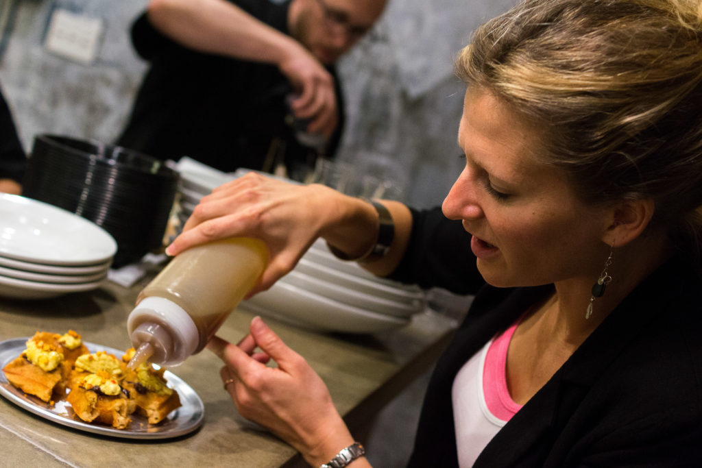 'We took a risk,' says Vedge's Kate Jacoby, of giving up OpenTable