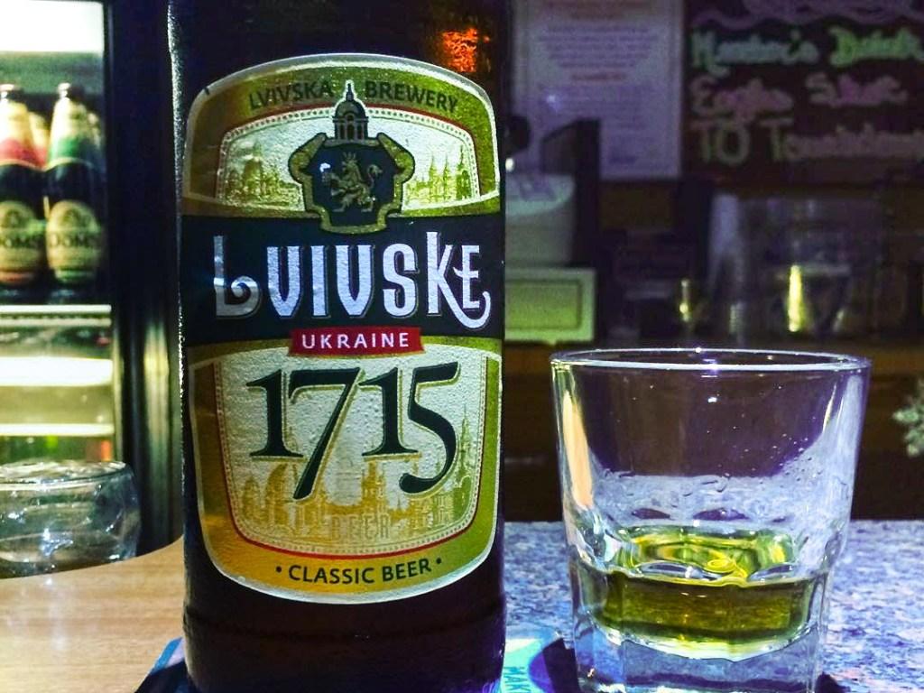 Yep, Ukrainian beer