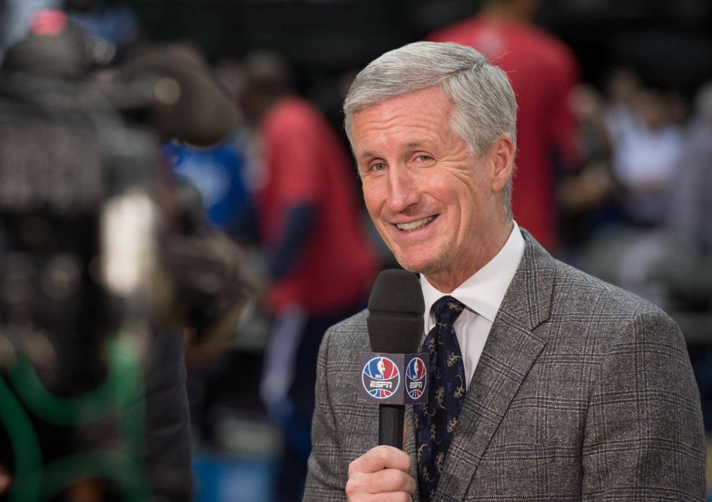 ESPN broadcaster Mike Breen