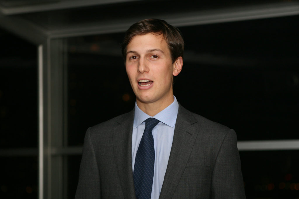 Donald Trump's son-in-law Jared Kushner.