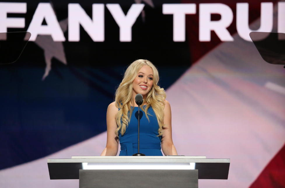 Donald Trump's daughter Tiffany Trump.