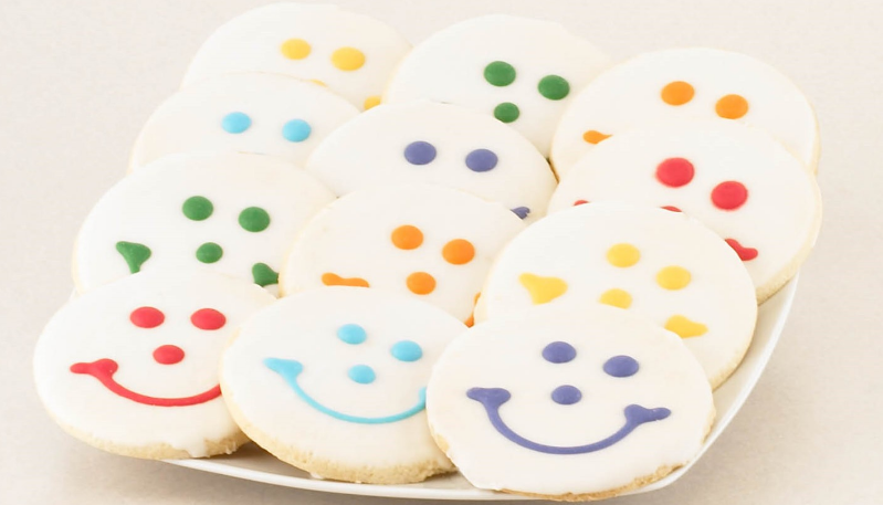 The famous Eat'n Park Smiley Cookie.