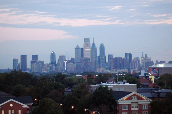 Philadelphia skyline philly