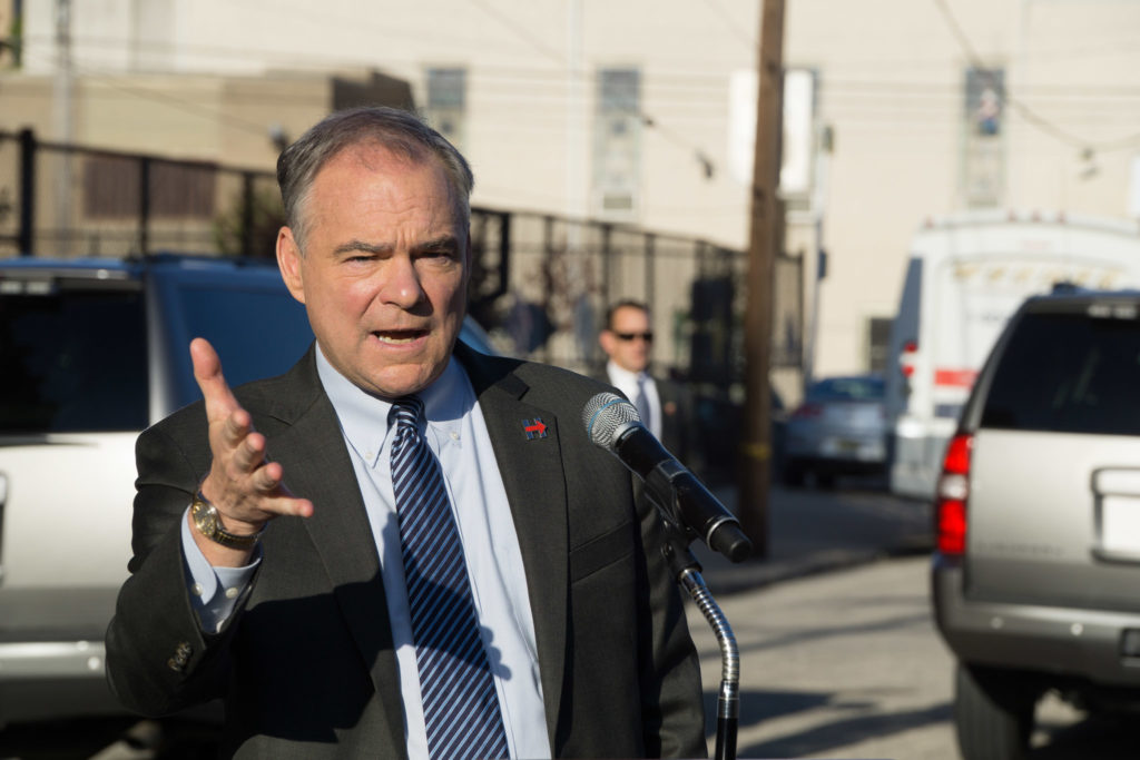 Tim Kaine is passionate about education