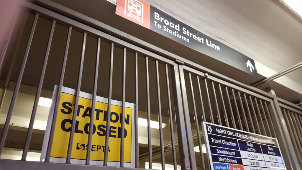 SEPTA's bus, trolley and subway operators in Philadelphia went on strike Nov. 1, 2016.