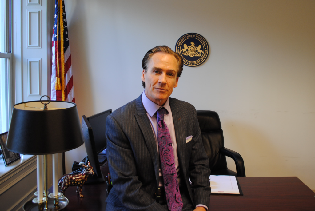 Former Lieutenant Governor Mike Stack in 2016