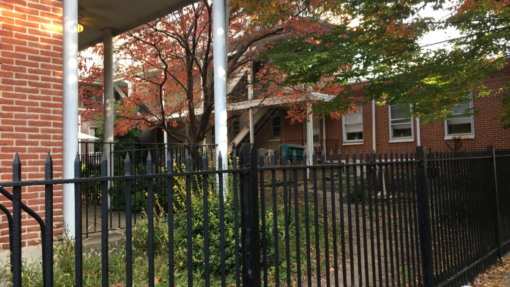 Philly polling place: Pennsylvania Widows Home, 1401. E. Susquehanna Ave. in Fishtown.