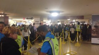 Lines snaked through Suburban Station as the Tuesday evening commute began. Striking TWU members blocked Regional Rail tracks, causing massive delays on SEPTA's only fully operating system.