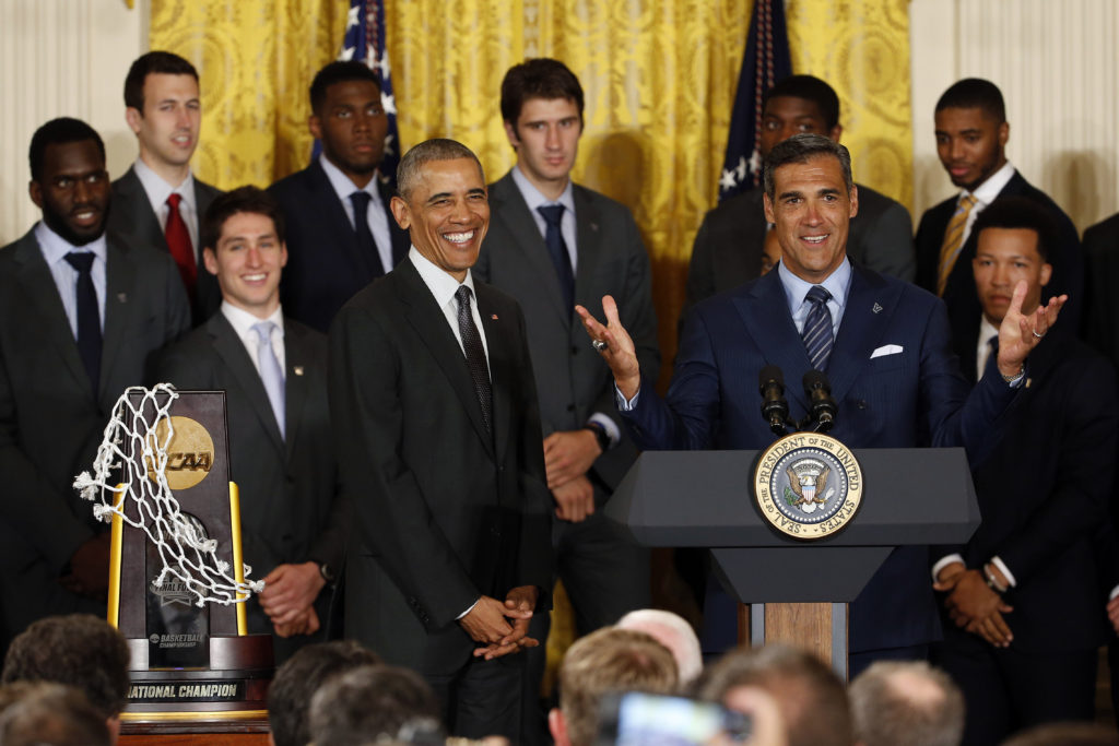 NCAA Basketball: NCAA Champion-Villanova White House Visit