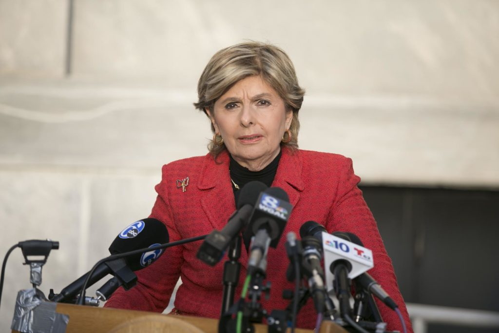 Wednesday, November 2, 2016  Gloria Allred, attorney for some of the women who have accused comedian and actor Bill Cosby of sexually assaulting them, addresses the press outside of  the Montgomery County Courthouse in Norristown, Pa.