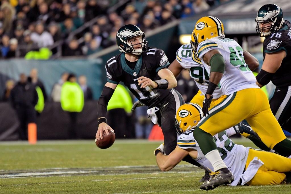 NFL: Green Bay Packers at Philadelphia Eagles