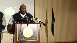 Willie Brown, president of TWU Local 234