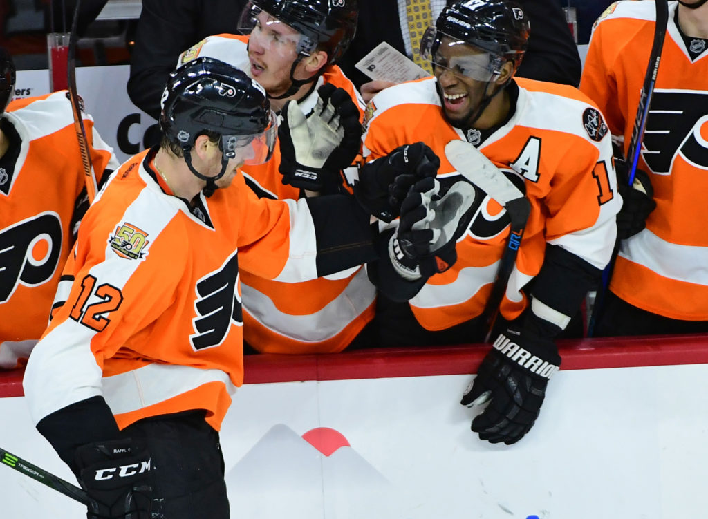 NHL: Edmonton Oilers at Philadelphia Flyers