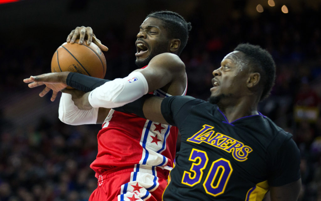 NBA: Los Angeles Lakers at Philadelphia 76ers