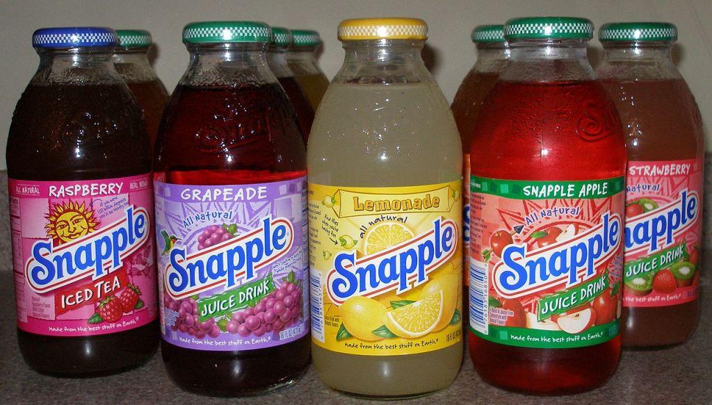 1280px-Snapple_Bottles