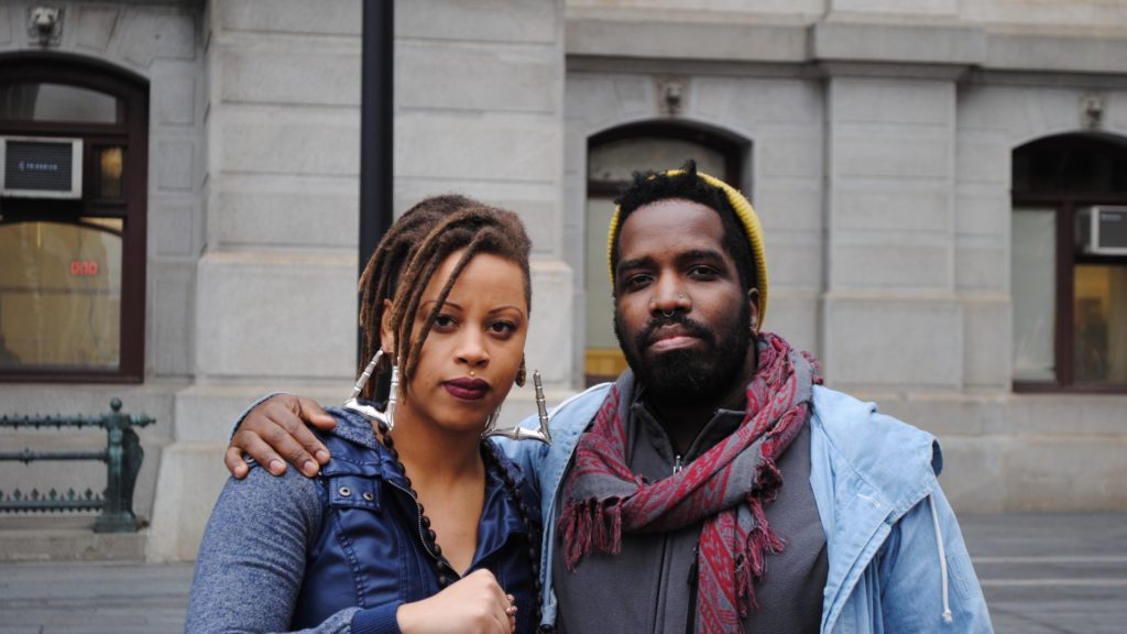 Shani Akilah and Abdul-Aliy Muhammad of the Black and Brown Workers Collective.