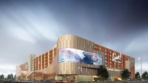 A rendering of Live! Philadelphia, the city's newest casino.