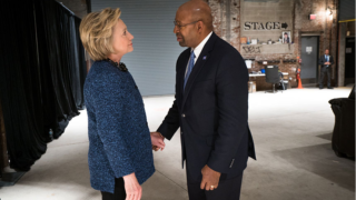 Nutter and Hillary Clinton
