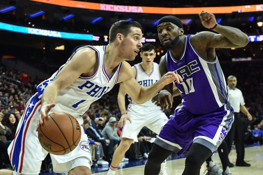 NBA: Sacramento Kings at Philadelphia 76ers
