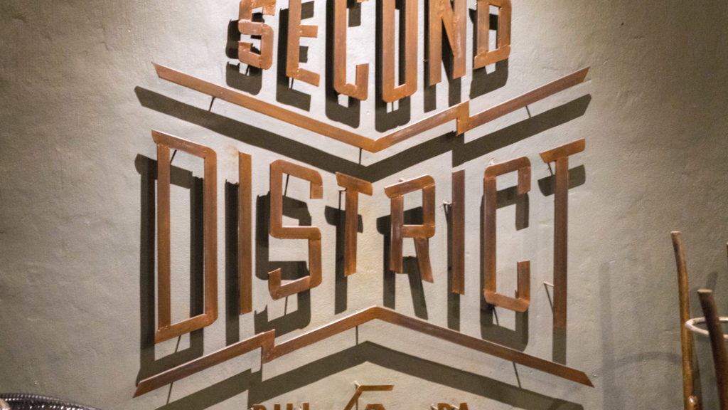 Metalwork at Second District Brewing