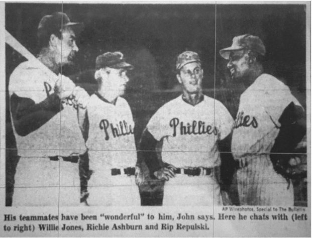 sports shoes 60336 f2fab The story of John Kennedy, the Phillies' forgotten first ...