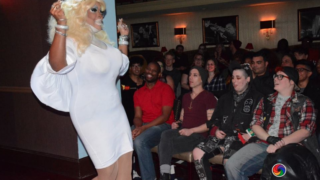 Antonio Watson performs in drag at CiBo Ristorante Italiano