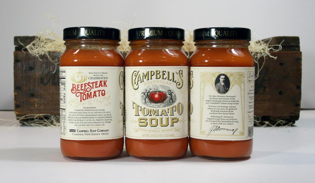 The recreated historic recipe