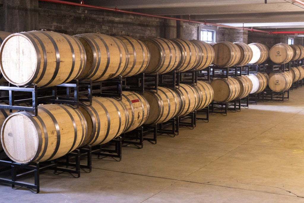 Last June, Mountain Laurel Spirits expanded with new equipment and an extra room to hold the growing collection of barrels