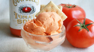Tomato bisque ice cream, it's a thing