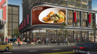 A rendering of the East Market Iron Hill location