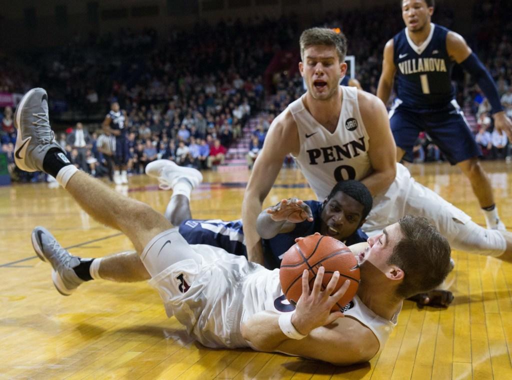 NCAA Basketball: Villanova at Pennsylvania