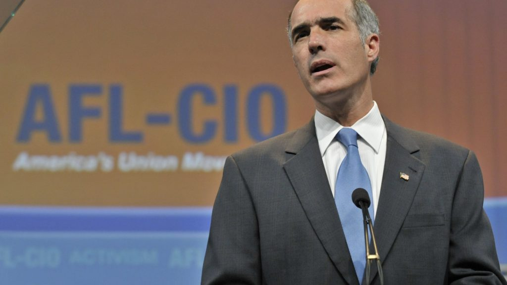 Bob Casey, Jr. at AFL CIO 2009