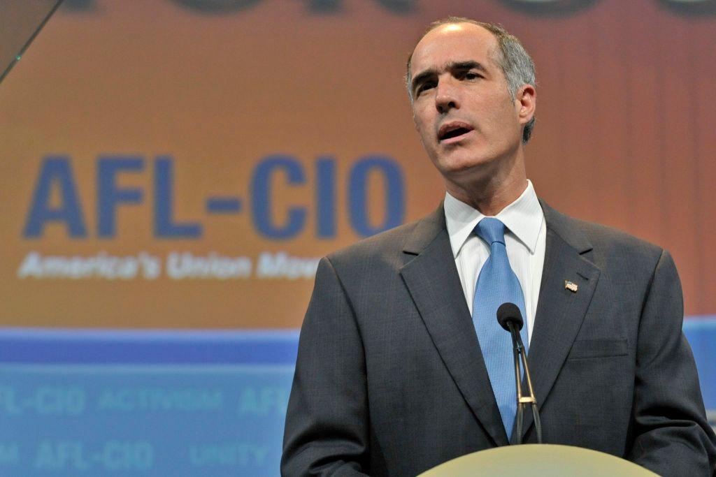 Bob Casey, Jr. at AFL CIO 2009