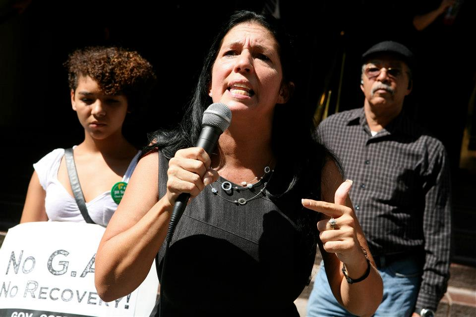 Green Party candidate Cheri Honkala is running as a write-in in North Philly's 197th district.